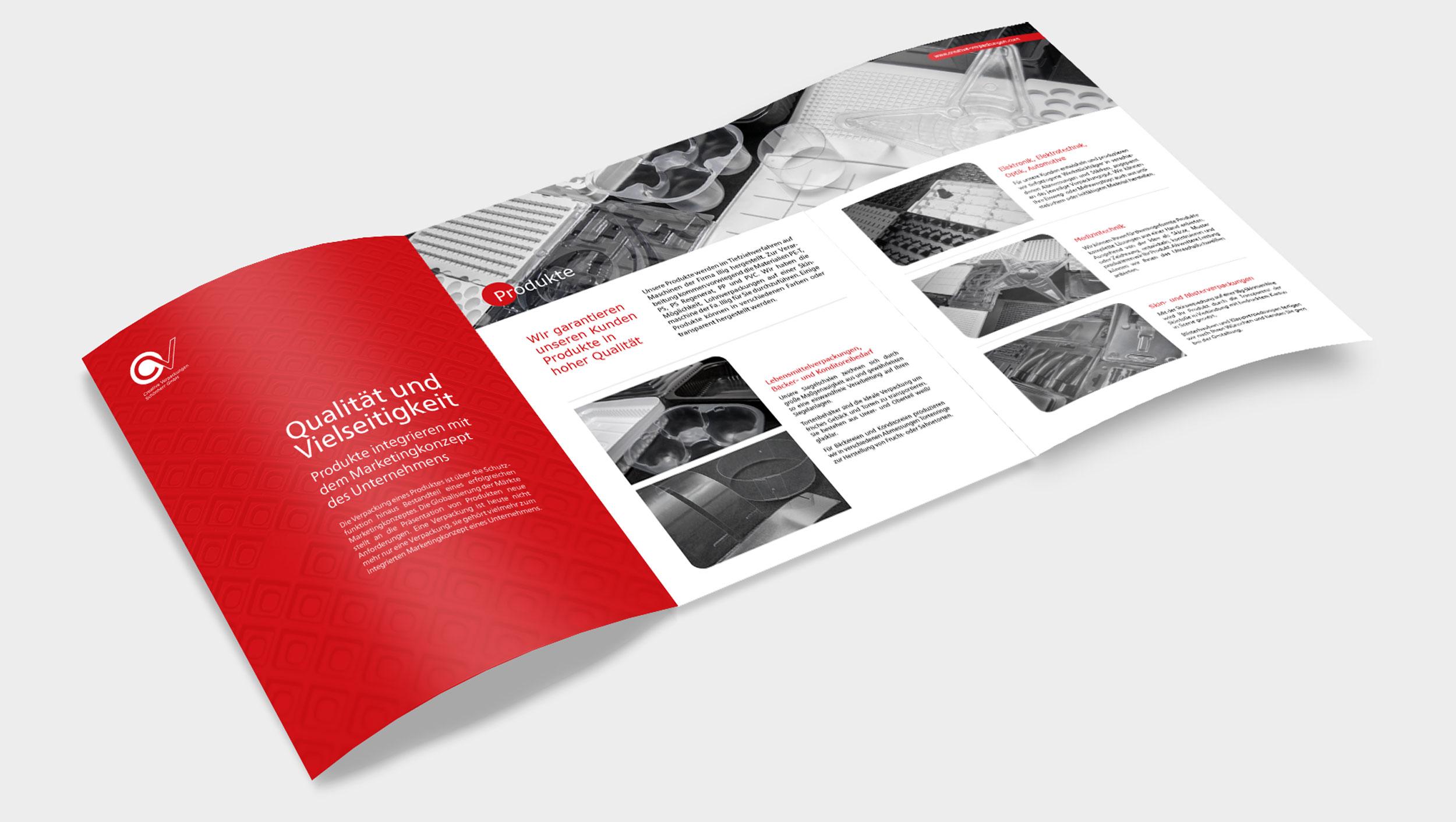 Creative Verpackungen brochure by GPU Design
