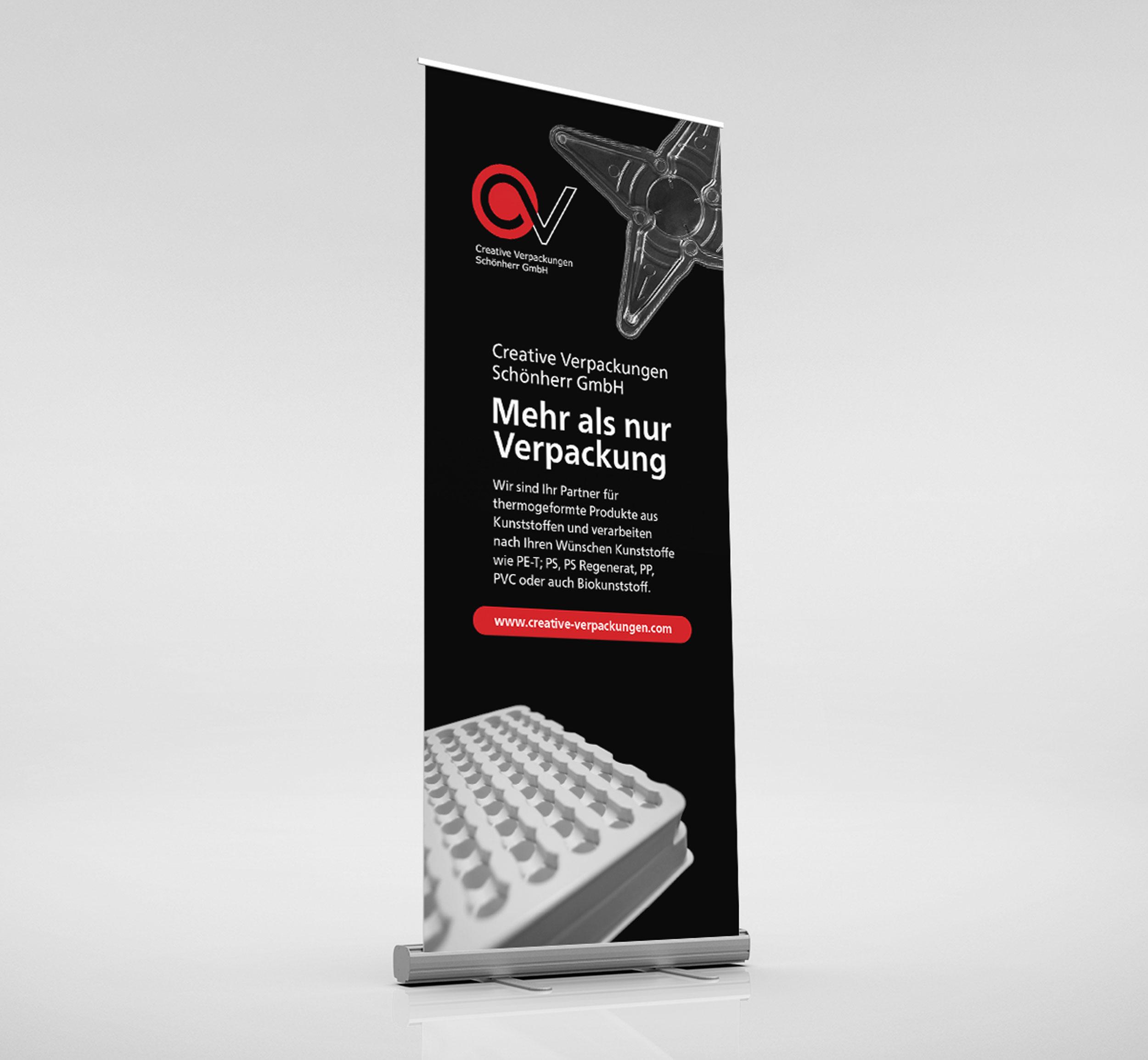Creative Verpackungen banner by GPU Design