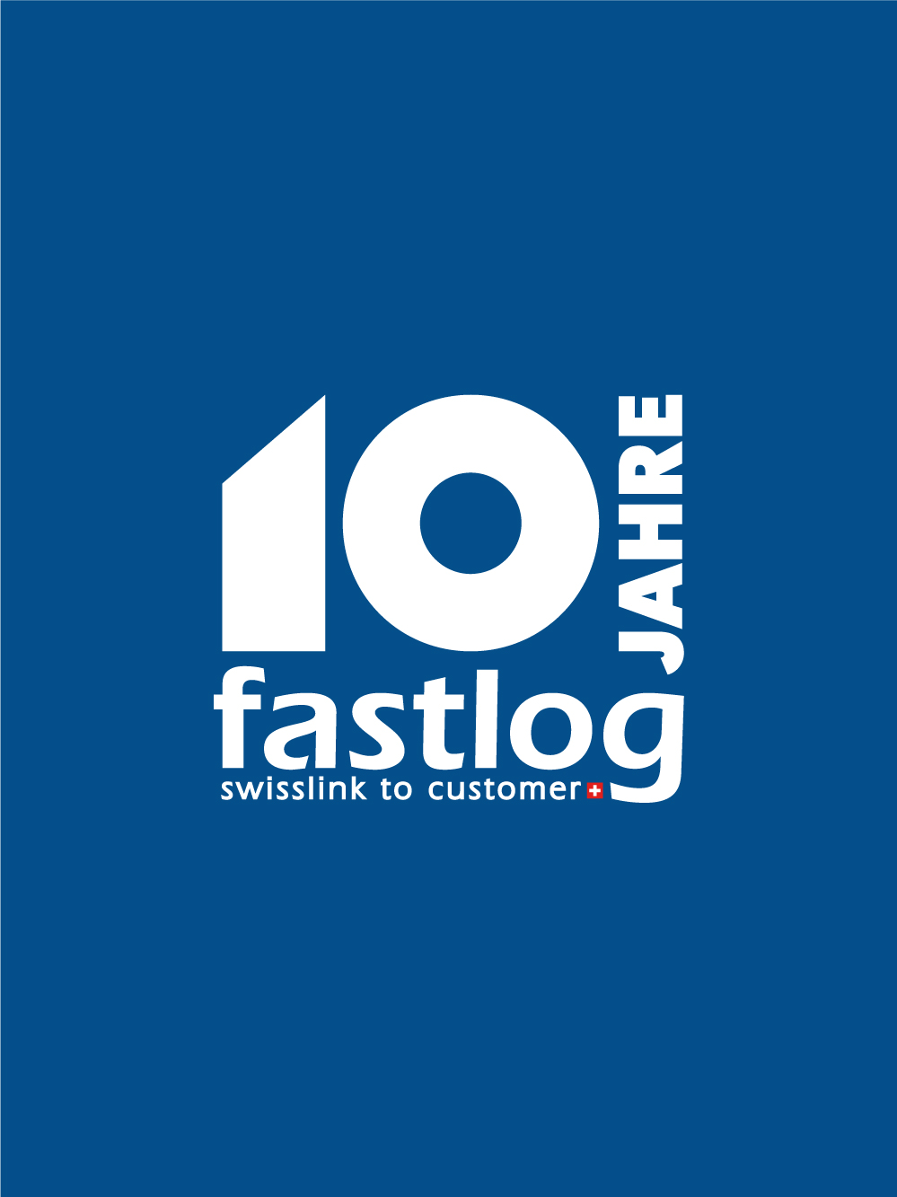 Fastlog 10 Jahre logo by GPU Design
