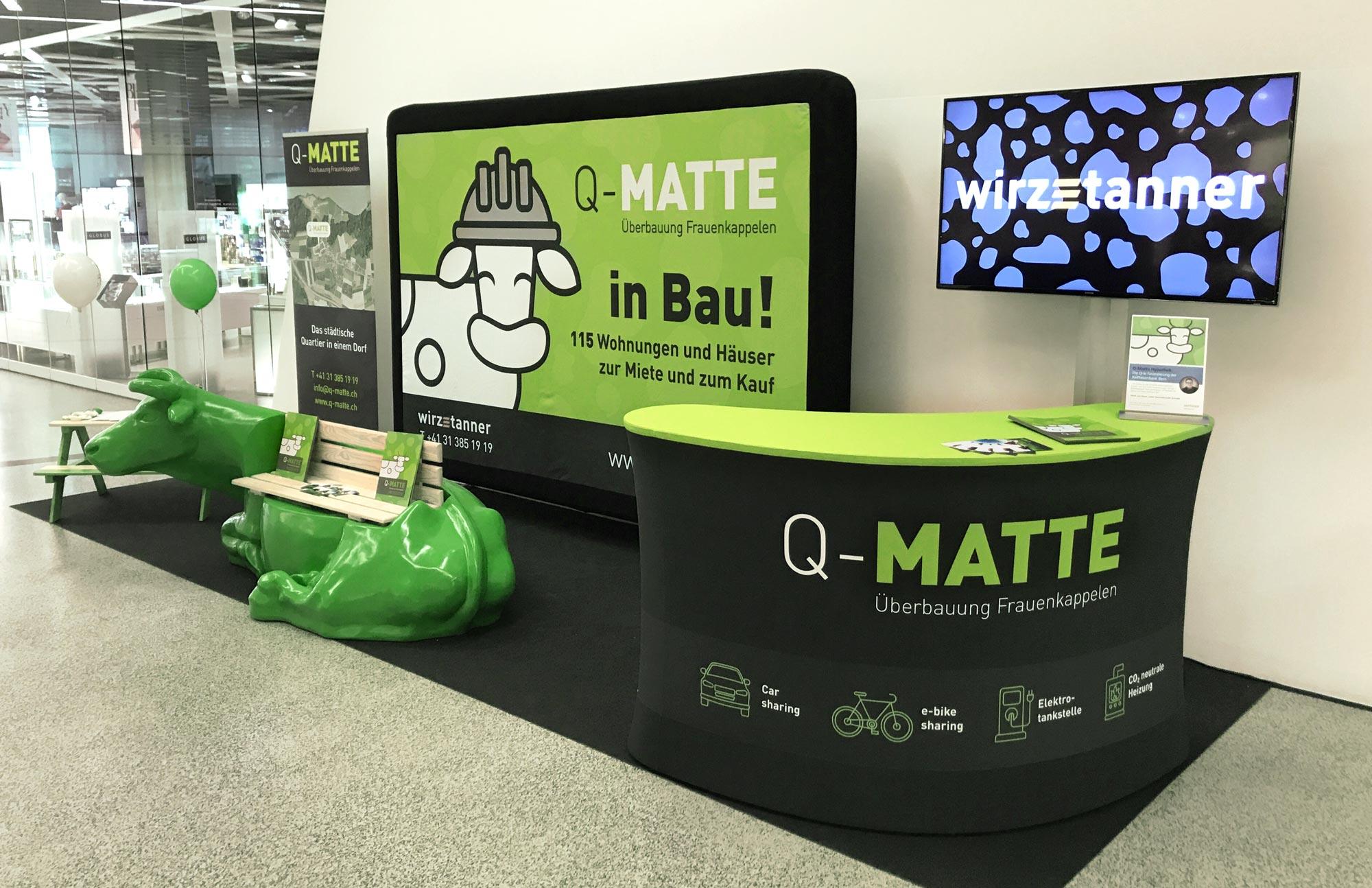 Q-Matte stand GPU Design