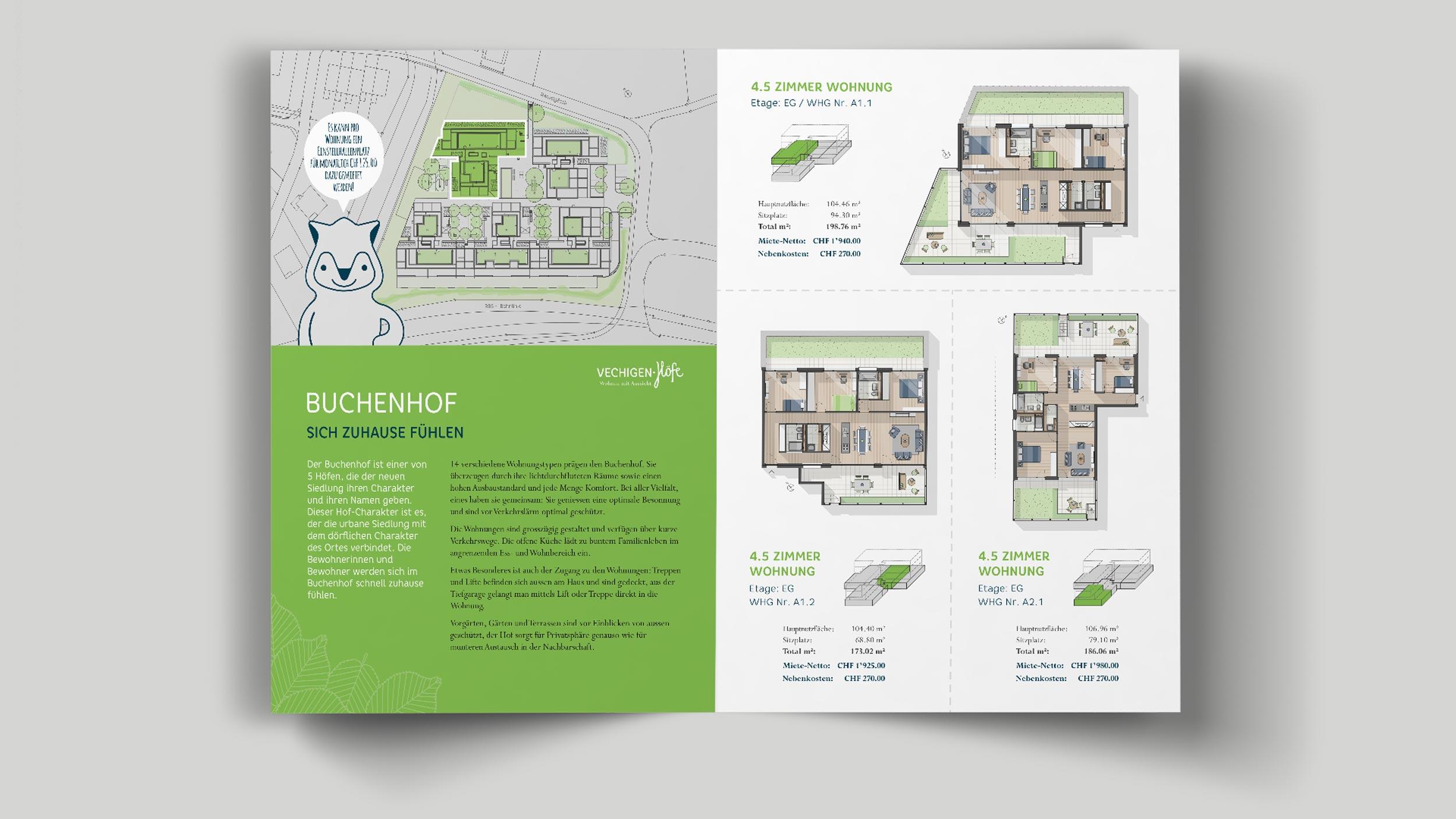 Vechigen Höfe brochure GPU Design