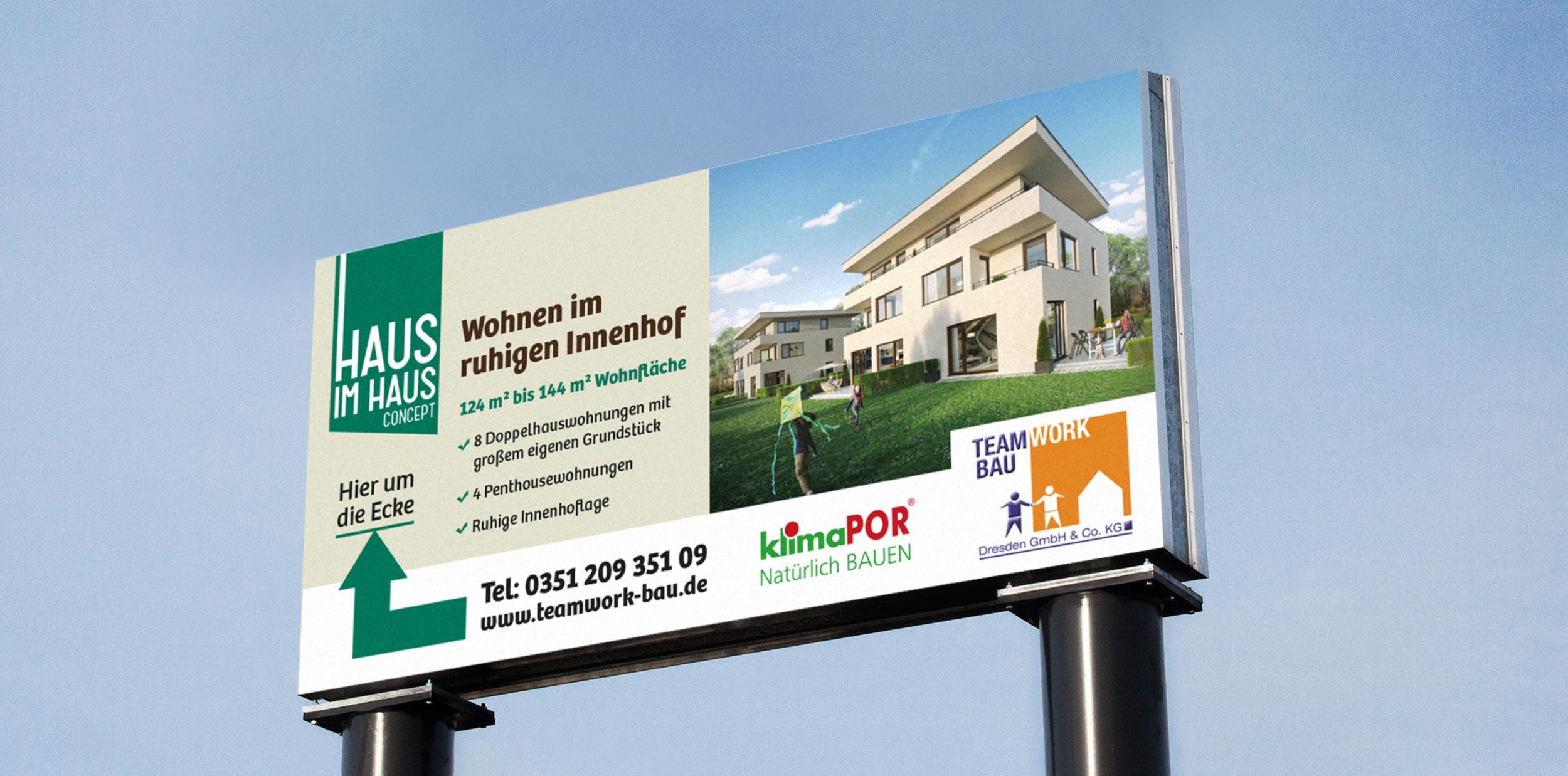 Haus im Haus billboard by GPU Design