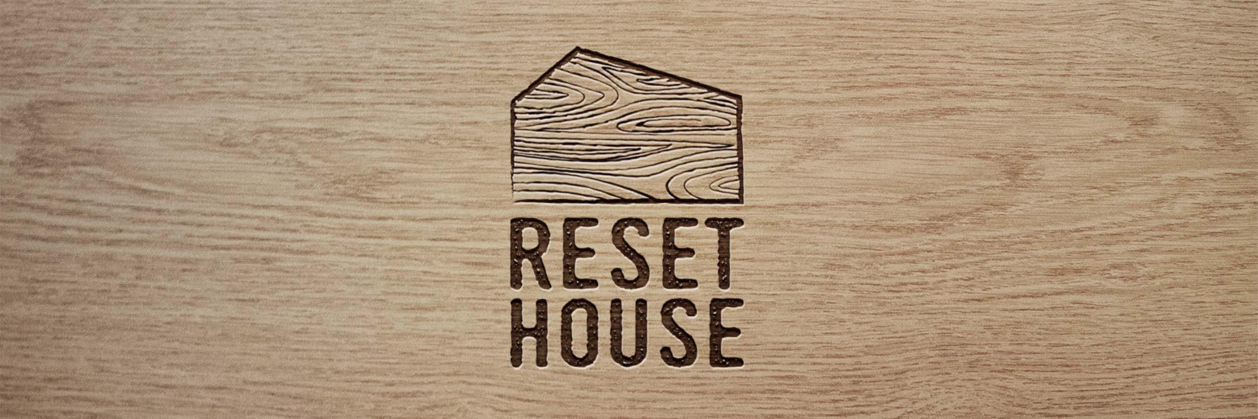 Reset House logo by GPU Design