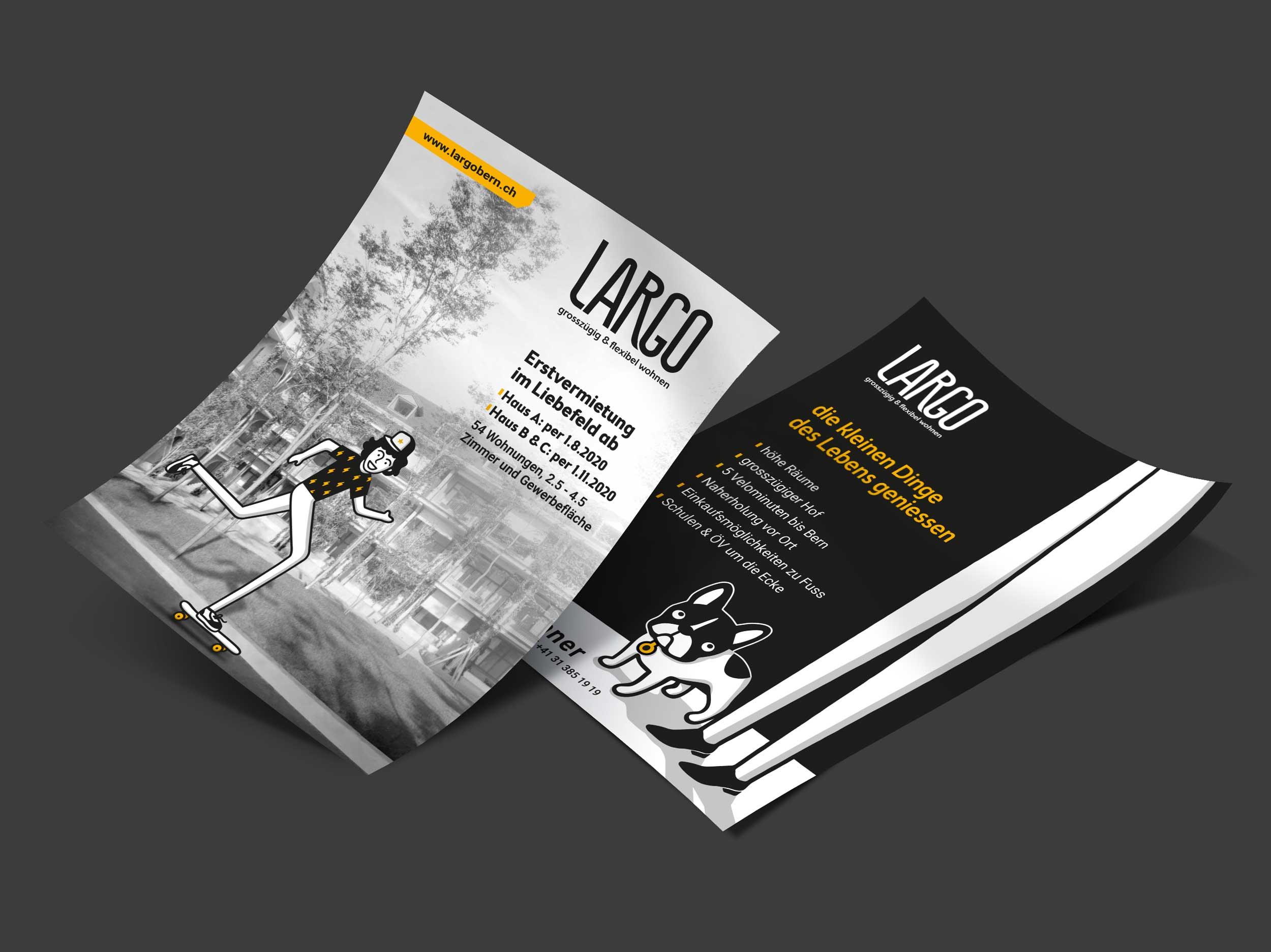 LARGO flyer by GPU Design