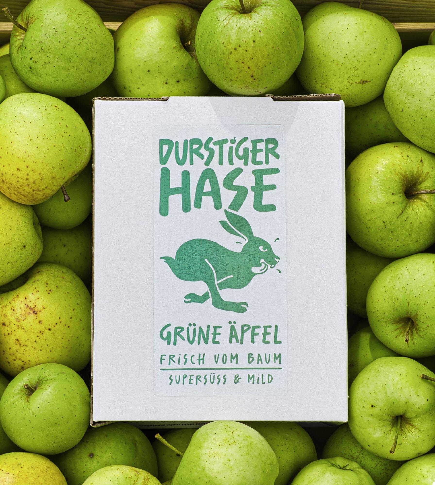 Durstiger-Hase-gruene-aepfel-GPU-Design